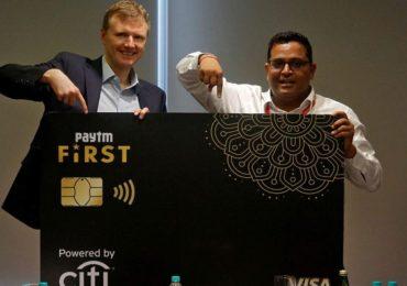 पेटीएमकडून क्रेडिट कार्ड लाँच, महिन्याला एक लाखाची मर्यादा