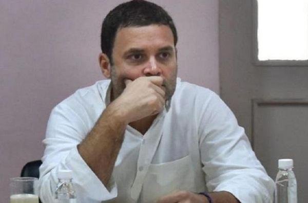 राहुल गांधीनी सोनिया गांधीकडे राजीनामा दिला?