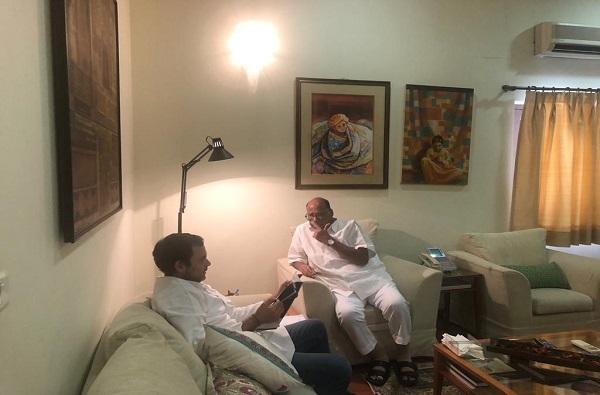 राहुल गांधी शरद पवारांच्या भेटीला, राष्ट्रवादी काँग्रेसमध्ये विलीन होणार : सूत्र