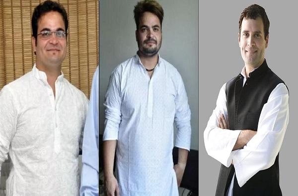 Rahul Gandhi's lookalike changed his look, राहुल गांधींसारख्या दिसणाऱ्या व्यक्तीने लूक बदलला!