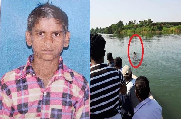 krishna river basin crocodile attack, सांगलीतील डिग्रजमध्ये 12 वर्षीय मुलाला मगरीने पाण्यात ओढलं