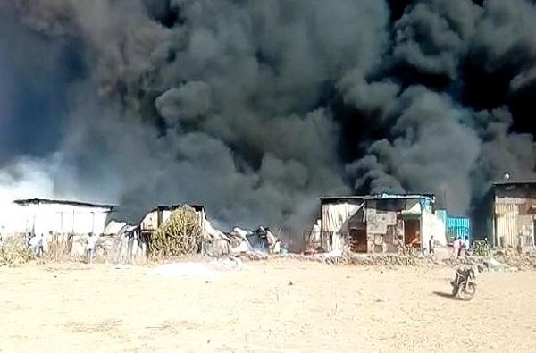 VIDEO : ठाण्यातील 30 ते 35 गोडाऊनला आग