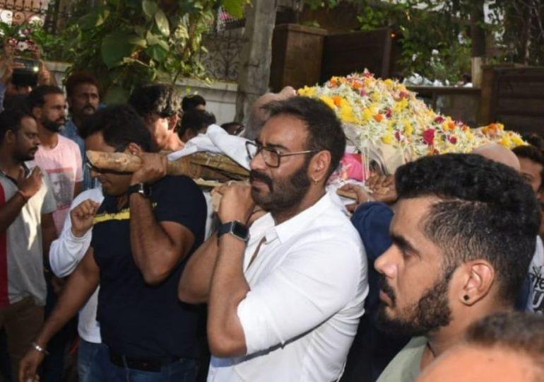 , वीरु देवगण खुर्चीवरुन कोसळले, काजोलच्या फोननंतर अजय देवगणची रुग्णालयाकडे धाव