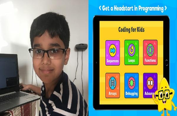 नऊ वर्षांच्या व्योमने 'हेल्थ अॅप' बनवलं